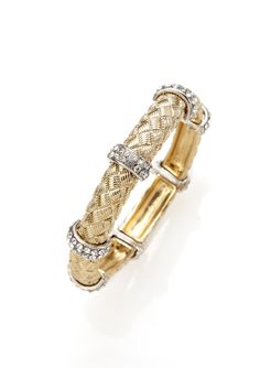Braided Crystal Bracelet - only $24.99 so affordable!