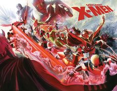 Might as well include some of Alex Ross' Marvel stuff too.