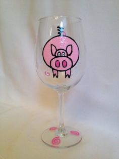 Pig WIne glass