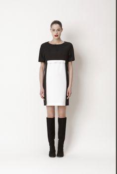 Abito bianco e nero tg 42 Space Concept Style