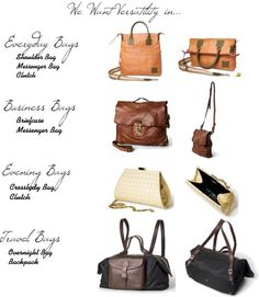"""""""Anytime Leather Handbags"""" by lisbethusala on Polyvore"""