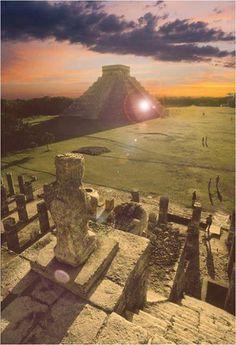 Chichen Itza Sunset - Mexico. #XichenTours