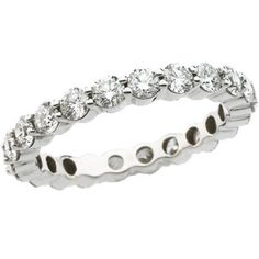 Round Diamond Eternity Band #eternityband available at Jenkins Jewelers in Midland and Gladwin, MI