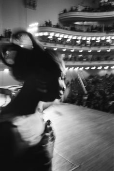 Nina Simone at Carnegie Hall in New York City. January 1965. Photo by Alfred Wertheimer