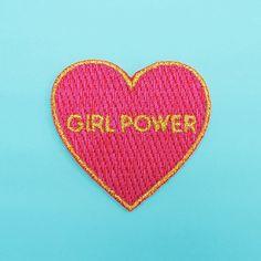 GIRL POWER PATCH por CoucouSuzette en Etsy