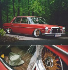 One hell of a Merc Mercedes W114, Old Mercedes, Classic Mercedes, Mercedes Benz Cars, Custom Hot Wheels, Car Wheels, Retro Cars, Jdm, Cool Cars