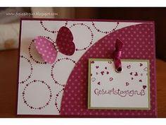Stampin' Up! Geburtstagsgruß mit Schmetterlinge und Circle Circus