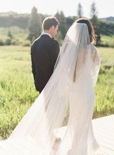 Elegant Mountainside Real Wedding