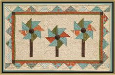 March Pocket Wallhanging Pattern by Briarwood Cottage at KayeWood.com. Primarily a table-topper wall hanging patterns. Pieced with some embellishments, embroidery, or appliqué.  http://www.kayewood.com/March-Pocket-Wallhanging-Pattern-by-Briarwood-Cottage-BC-MAPO.htm $5.00
