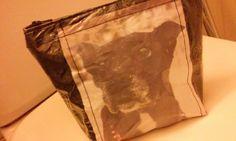 muovipussikokeiluja, printattuna Tessa Outdoor Blanket