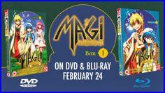 Ecco il trailer di Magi: The Labyrinth of Magic * Giovedì scorso, l'editore britannico Manga UK ha caricato sul suo canale YouTube il trailer di Magi: The Labyrinth of Magic, la nota serie di A-1 Pictures del 2012 tratta dall'omonimo [...]