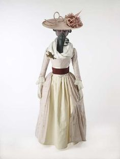 Day dress, 1780's, Museum of London