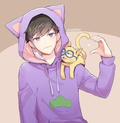 Art, beautiful, and cat imageの画像 all anime, anime base, anime Anime Cat Boy, Manga Anime, Neko Boy, Hot Anime Boy, Manga Boy, All Anime, Comedy Anime, Anime Base, Ichimatsu