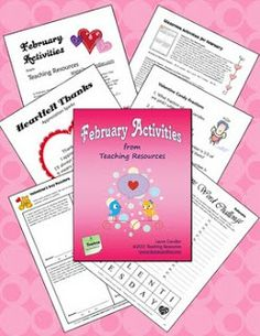 Classroom Freebies: Laura Candler's Free February Activities Mini Pack