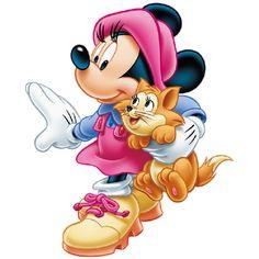 Minnie Mouse - Cartoon Clip Art