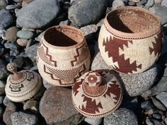 My first and second Karuk baskets