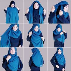 ... about hijab on Pinterest | Hijab tutorial, Hijabs and Hijab styles