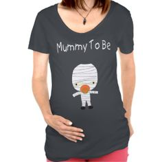 Mummy To Be Halloween Maternity T-Shirt