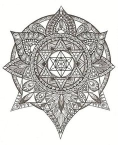 Mandala Tattoos Designs & Ideas : Page 78