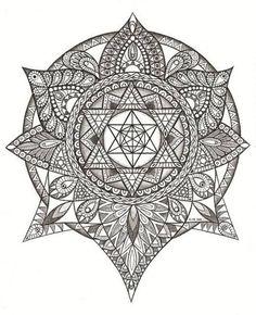 Mandala Tattoos Designs & Ideas : Page 78