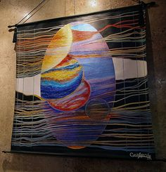 "Carina Aprile, ""TAPIZ INFINITO"" Painting on Canvas"
