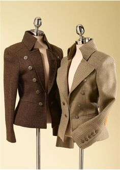 I'm so in love with these jackets! - Butler jacket - Moloh, London.