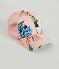 C.C Floral Baseball Hat - Women s Hats in Peach  e78a890ca4a1