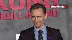 Tom Hiddleston arrives at 'Kong: Skull Island' Los Angeles film premiere