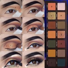 """(@glamorous_reflections) on Instagram: """"Hiya babies! #stepbystep pictorial of my 1st look created using the new #subculture palette from…"""""""
