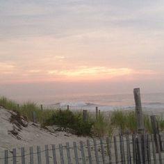 Beautiful beach morning, LBI