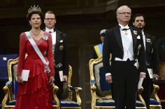 Le couple royal et les stars réunis pour la paix.