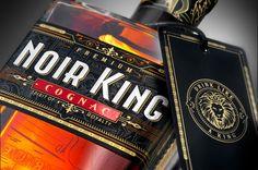 Noir King Cognac. Designed by #Linea. #afro-american #harlem #jazz #black