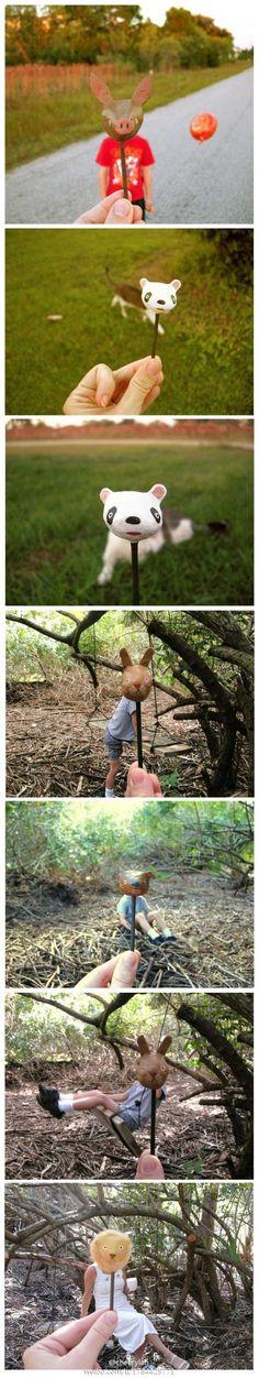 Ima pig, ima panda, ima rabbit, ima.....heeheeehee
