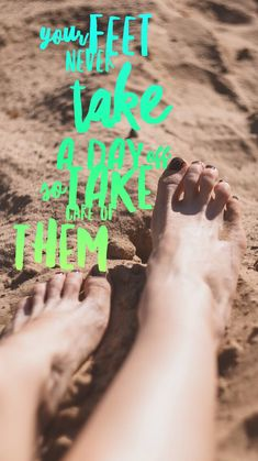 Nail quote of the week, your feet never take a day off, so take care of them - Darin a - Huidverzorging Pedicure Colors, Pedicure At Home, Pedicure Designs, Manicure And Pedicure, Pedicures, Nail Memes, Nail Quotes, Body Shop At Home, The Body Shop