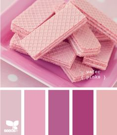 wafer pinks...my great-grandmother used to buy me these when we would visit and serve me juice out of a pink glass with white swirls...magical