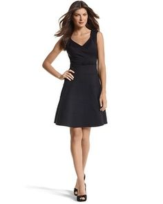 Love this dress b/c I can dress it up or down....and it looks fab on! Dresses & Skirts - White House | Black Market