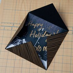 Design Sponge Printed picture holiday cards