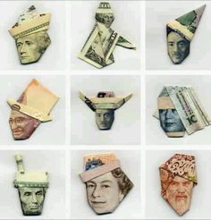 YOSUKE HASEGAWA: 9 Iconic Origami Money Sculptures | @Voncelle Volté | #japan #india #uk #usa |