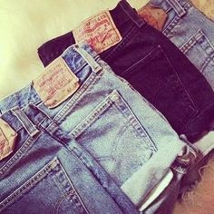 Brands and washes may vary.  Due to the fact that the pant legs of the shorts are folding in on themselves, they may fit snugly in the area in which they are cuffed.
