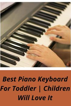 Do you know how to find the Best Piano Keyboard For Toddler? It isn't a simple job, and so we're aiming to assist you all step of the way. Best Piano Keyboard, Voice Effects, Kids Piano, Learning Methods, Piano Keys, Karaoke, Musicals, Homeschool, Songs