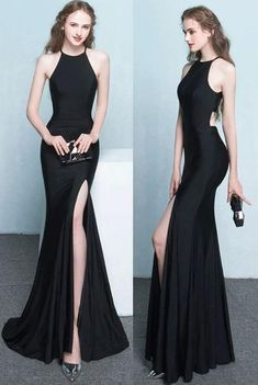 Prom Dress Princess, black mermaid prom dress, sexy prom gown with side slit Shop ball gown prom dresses and gowns and become a princess on prom night. prom ball gowns in every size, from juniors to plus size. Pageant Dresses For Teens, 2 Piece Homecoming Dresses, Elegant Bridesmaid Dresses, Simple Prom Dress, Prom Dresses 2018, Mermaid Prom Dresses, Cheap Prom Dresses, Evening Dresses, Formal Dresses