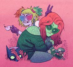 Harley & Ivy | Dan Hipp @mrhipp