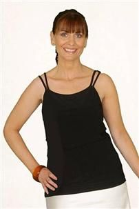 e0560409b314b Price £22.99 Mastectomy Classic Pocketed Camisole Top - Black. Pocketed on  either side to