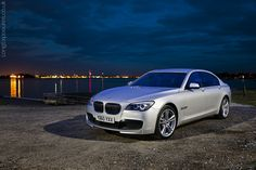 F02 BMW 7-series Msport in Titanium Silver. Simply awesome