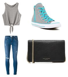 """Untitled #38"" by zain-mjalli on Polyvore featuring Frame, Converse and Marc Jacobs"