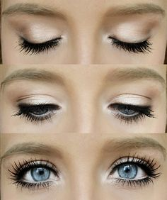 Eye Makeup Tips.Smokey Eye Makeup Tips - For a Catchy and Impressive Look Beauty Make-up, Beauty Hacks, Hair Beauty, Beauty Tips, Beauty Products, Beauty Ideas, Makeup Products, Easy Makeup Tutorial, Makeup Tutorials