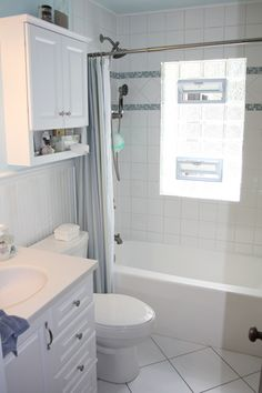 What to do if you have a window in your shower for Bathroom remodelers in my area