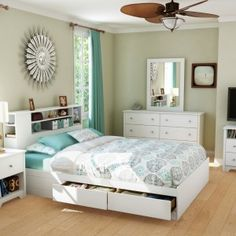Teens Bedroom, Glamorous Headboard Designs Picture With High Headboard Bedroom Set And Headboard With Built In Nightstands Also Cool Table Lamp Shades : Modern Headboard Designs Ideas For Contemporary Bedroom Decor