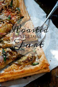 Roasted Vegetable Tart - Edibles