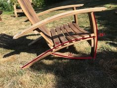 Wine Barrel Adirondack Chair: 10 Steps (with Pictures) Wine Barrel Diy, Wine Barrel Chairs, Whiskey Barrel Furniture, Whiskey Barrels, Bourbon Barrel, Lawn Furniture, Rustic Furniture, Furniture Plans, Furniture Design